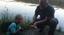 Pierwsza ryba mojego syna.
